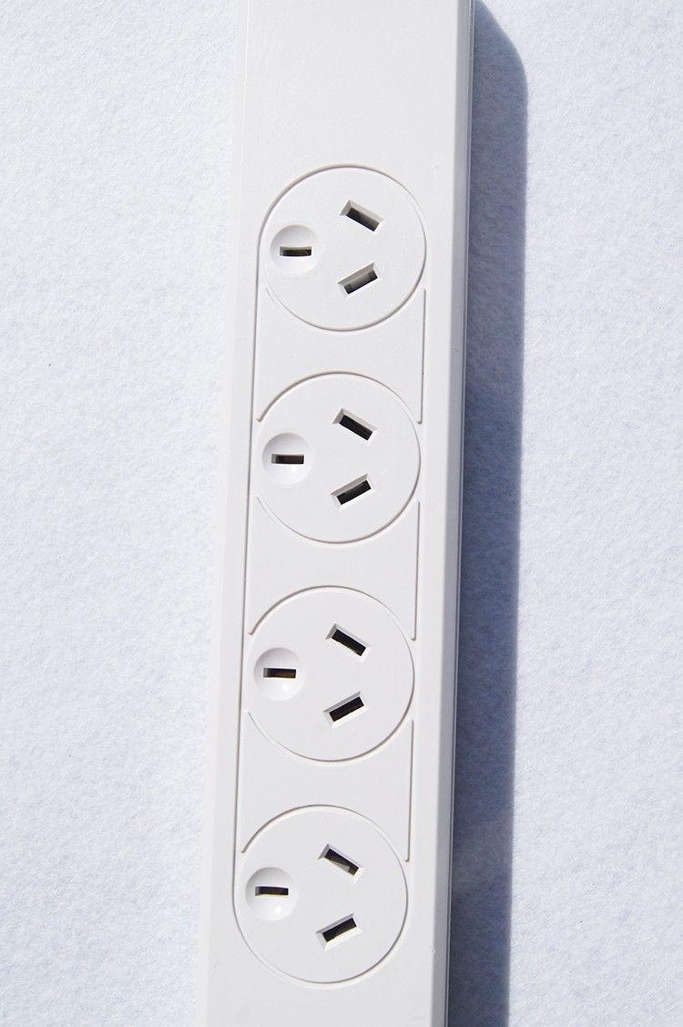 Australia SAA 4 way 250V 10A 2500W USB power socket extension plug