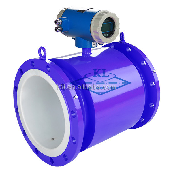 Clean water emf flow meter battery power