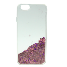 3D Dynamic Bling Cover Floating Stars Quicksand Hard Case for iPhone