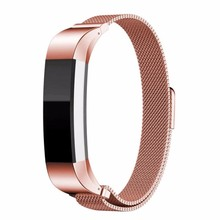 Watch Band Replacement Accessory Wristband with Metal Clasp for Fitness Activity Tracker