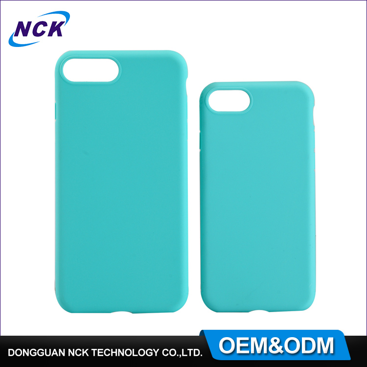 MOQ=100pcs free sample tpu mobile phone case for iphone 6 7 7plus