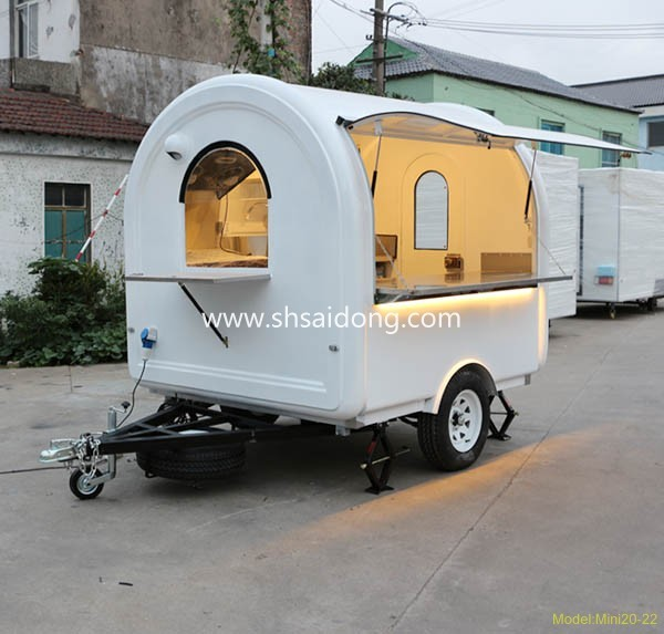 Preferential price Mobile catering trailer hot sale mobile food cart design