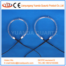 CE Certification and Glass Material halogen circular tubular heating element