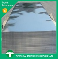 AISI 430 mirror polish bright surface stainless steel sheet with PVC Coated