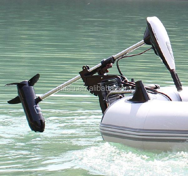 Бензиновый мотор или электрический для надувной лодки