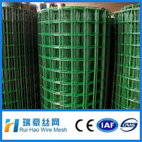 Hebei 1x1 PVC Coated welded wire mesh fence