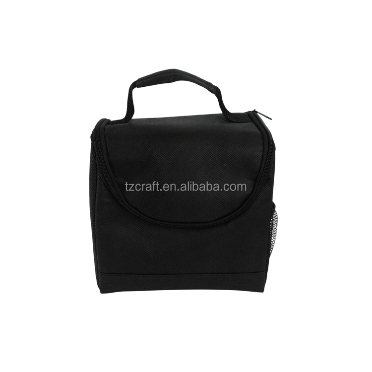 Promotional insulated aluminum thermal meal prep cooler bag