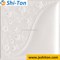3d leather decorative walled paper