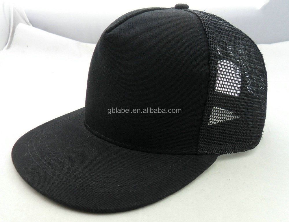 cheap wholesale black mesh hip hop <strong>custom</strong> made snapback hats