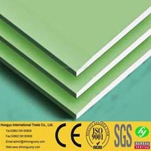 thermal insulate alimium foil back gypsum board false ceiling