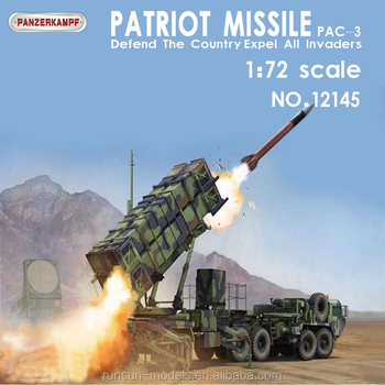 Original manufacturer 1:72 Scale Die cast model Patriot Advanced Capability PAC-3 Missile Launcher diecast model toys collection