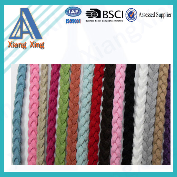 Wholesale High Quality 3mm Chamude Leather For Braided Bracelet