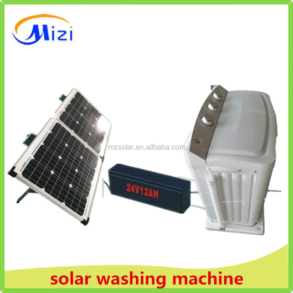 solar DC 24V washing machine with dryer with CE,CB