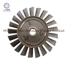Turbine wheel used for military aircraft parts