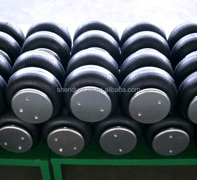 Convoluted rubber air suspension spring for WATSON&CHALIN trucks GOODYEAR quality: 3B12-328