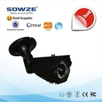 SOWZE Outdoor Night Vision IP Camera with ONVIF Waterproof and support Windows XP, Vista, 7, 8, Mac OS Android, iOS IP Camera