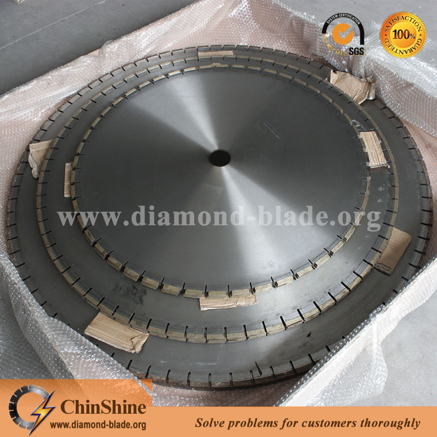 Diamond cutting stone saw blade 1000mm 1200mm 1300mm for marble granite