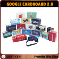 Branded cardboard vr 3D glasses Google Cardboard V2 for smartphone