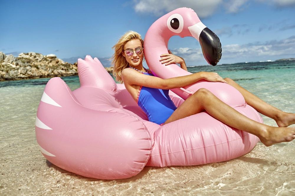 Cheap Inflatable Pink Pool Float Flamingo