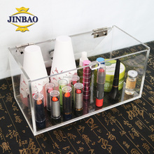 JINBAO plexiglass columns make-up acrylic box guangdong