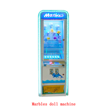 attractive product amusement prize rolling game machine marbles doll redemption game machine