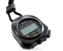 New Handheld LCD Portable Electronical q q digital stopwatch large display stopwatch mini stopwatch