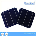 price for a solar cell 6x6 inch 156x156mm mono silicon solar cell low price for solar panel made in Taiwan