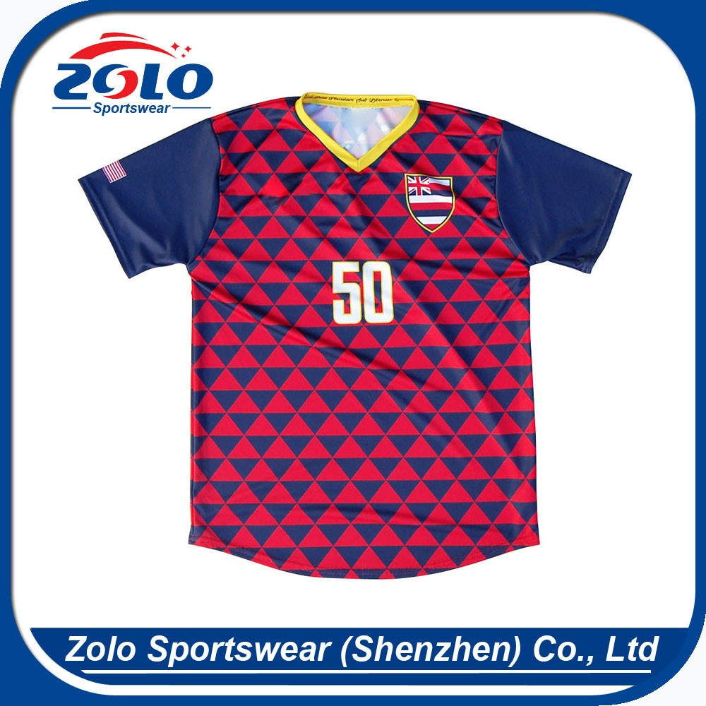 Cheap custom sublimation printing v neck football jersey 5xl