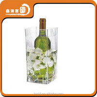 plastic waterproof pvc wine cooler bag
