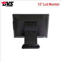 BVS-12A OEM / ODM Accepted VGA Input portable monitor 12inch Bulk LCD Monitor for pos machine
