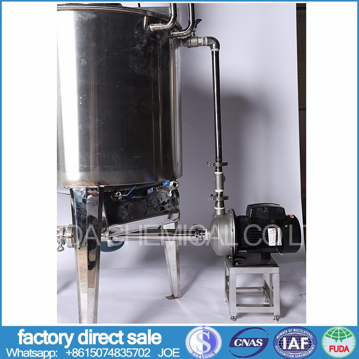washing detergent machinery various liquid detergent emulsifying tank