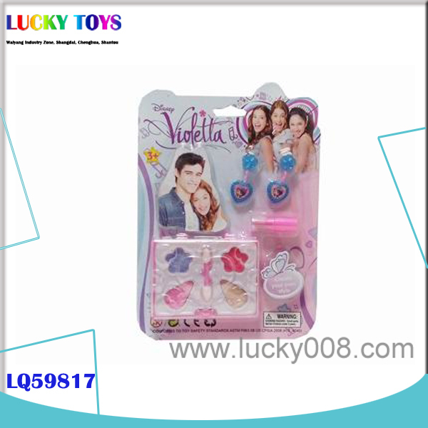 New Products games for girls dress up DIY cosmetics children makeup makeup Set toy gift for girls China Wholesale