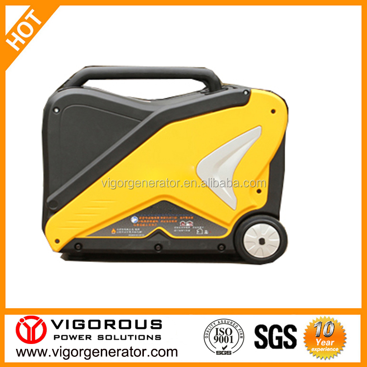 Manufacturer Price Super Quiet Portable Gas and Gasoline generator 3000 watt for Backup power