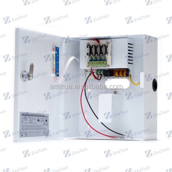 Ac To Dc Battery Backup Power Supply Dc12V 3A 4 Channels