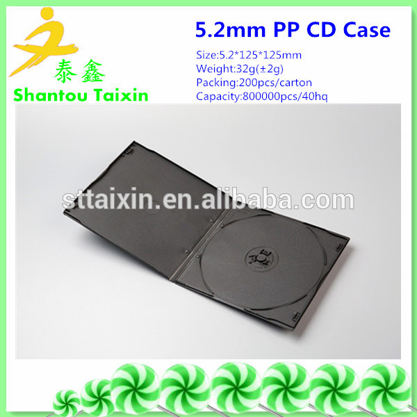 Manufacturer Supplier dvd cases wholesale 5mm With the Best Quality