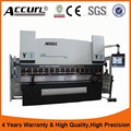 We67k series air hydraulic press brake with CE