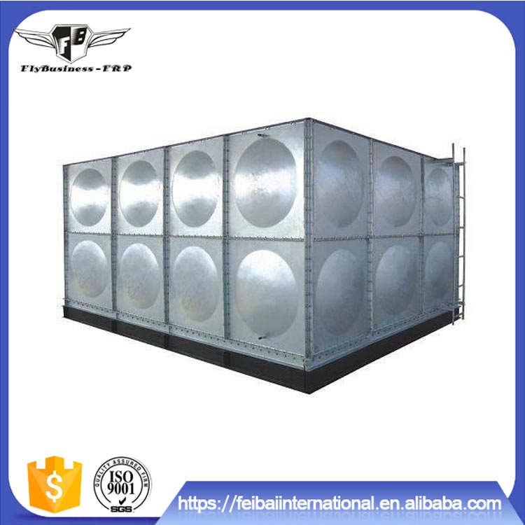 2017 hot sale large galvanized 500 liter water tank price philippines