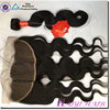 Virgin Mongolian Hair Straight Style body wave lace frontal 13x8