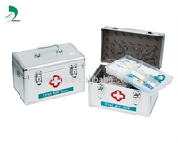 Fashion High-Quality Aluminum Family Health Care First Aid Kit / Aluminum Alloy First Aid Box