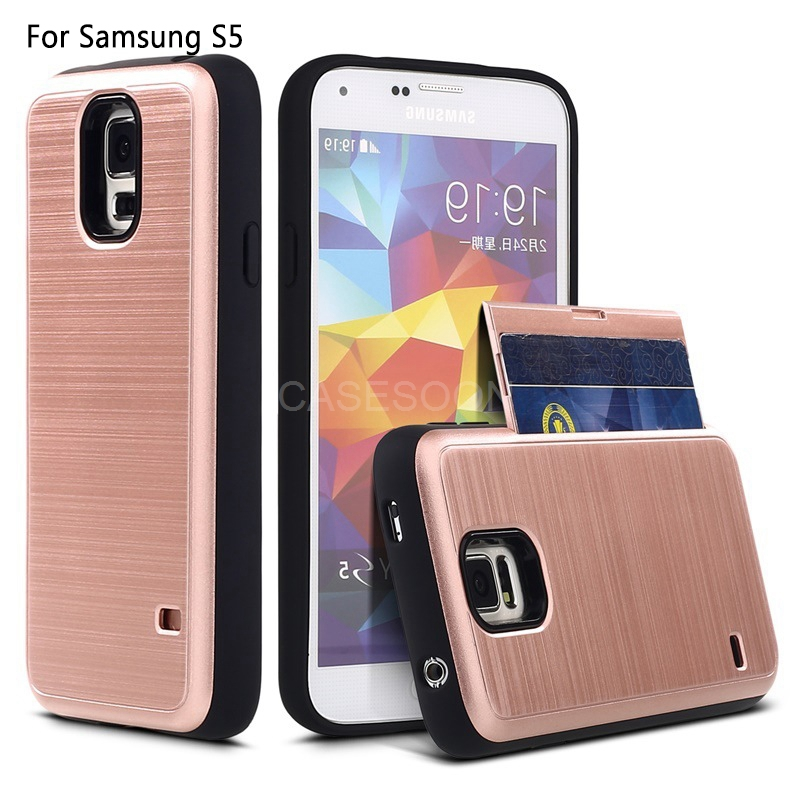 2017 heavy duty combo hard case for samsung galaxy s5 case protective armor