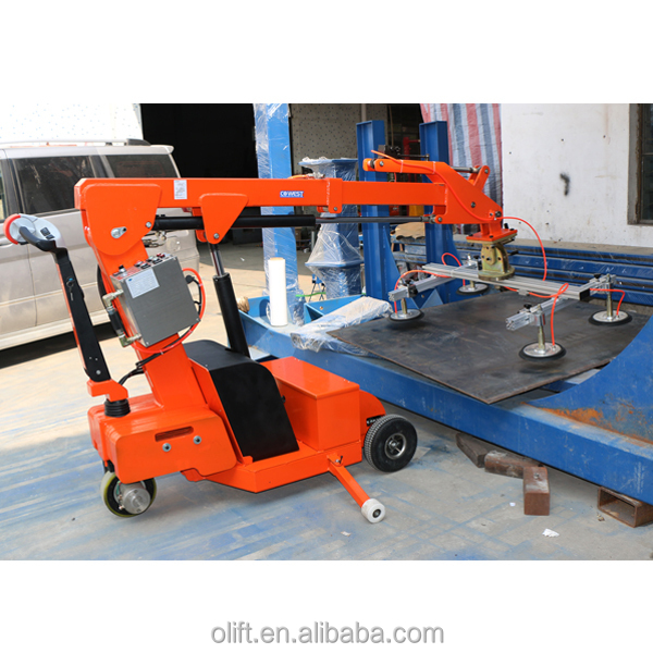 Hot-sales battery/electric/motorized robot glazing glass lifter with CE ISO ect certificate