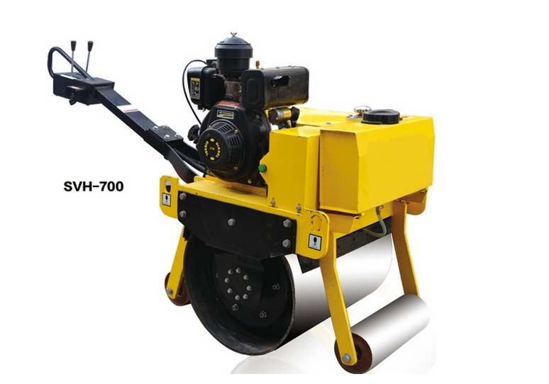 High quality handheld small self-propelled vibratory road roller