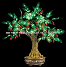 Beautiful and hot sale LED Bonsai Pearl Tree for christmas light