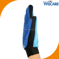 Double Side Pet Grooming Tools Glove Deshedding Hair Fur Remover