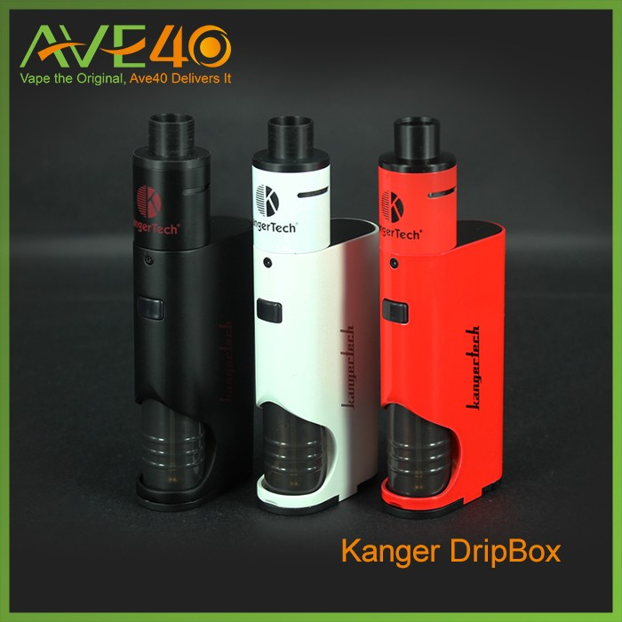 2016 HOT Wholesale 100% Genuine Kanger 60W DRIPBOX Kit, 60w Kanger Dripbox Kit , Kangertech Dripbox Kit with fast shipment
