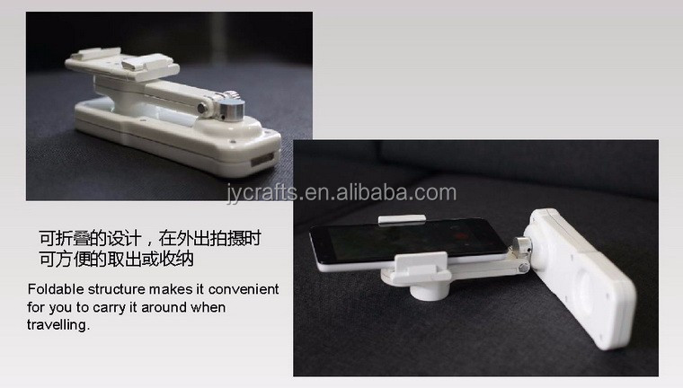 China good price smartphone video stabilizer 2 axis gimbal with bluetooth
