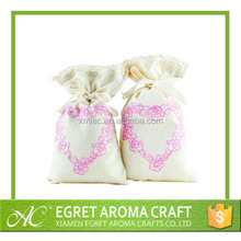 hanging linen sachet bags lavendNew design eco-friendly natural scented lavender fragrance sachet