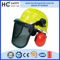 H101 2016 new product Ho Cheng CE EN397 head protector forestry safety helmet