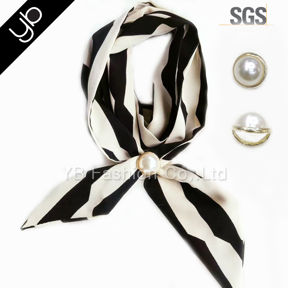 wholesale new design printed multifunctional long chiffon silk scarf for women