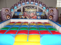 inflatable twister / Newly sports inflatable twister game